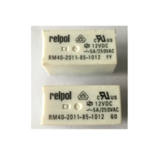Electromagnetic Relay SPDT Ucoil 5A/12VDC 5A/250VAC 5A/30VDC  ROHS  RM40-2011-85-1012