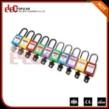 Seguridad Fabricante Slim Nylon Shackle Safe Lock Candados (4.5mm dia)
