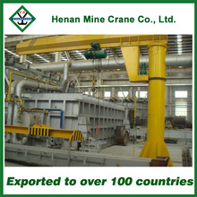Small Luffing Swing Arm Jib Crane for Sale