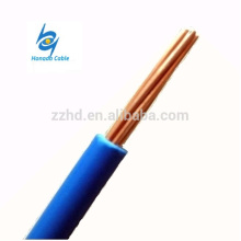 Fio de cobre padrão do condutor 600v UL tipo TW fio elétrico