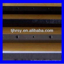 M1.25 dientes rectos engranaje rack (máquina de grabado de madera)