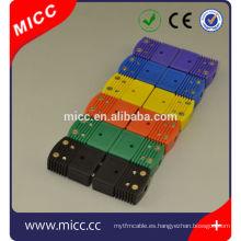 conector de termopar tipo k impermeable industrial estándar