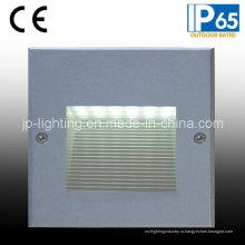 IP65 светодиодный наружный утопленный свет стены шаг (819207)