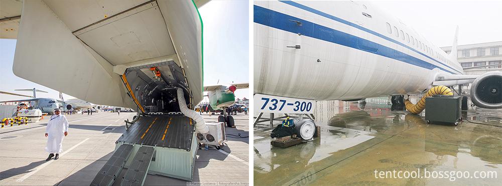 Airplane parking Air Conditioner