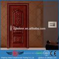 JK-SW9663G schöne Puten Stahl Holz Tür Fabrik Preis