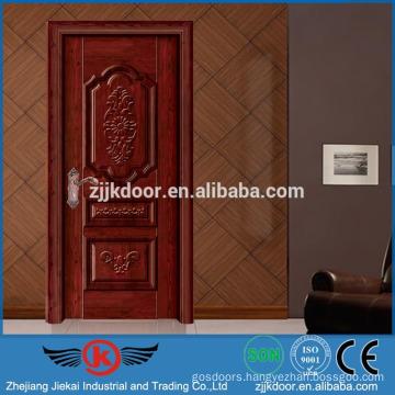 JK-SW9663G nice turkey steel wooden door factory price