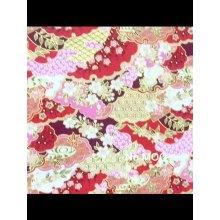 Tejido kimono 100% algodón de bronceado estilo japonés