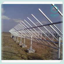 Profilés en aluminium extrudé pour Rail panneau solaire