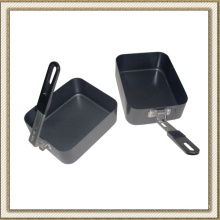 Non-Stick Camping Cookware Set Lunch Box (CL2C-DJG1813-2B)
