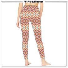 Pantalons de yoga pour dames personnalisés personnalisés à l'humidité Wicking