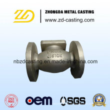 OEM Carbon Steel Lost Wax Casting Pumpe Beschläge