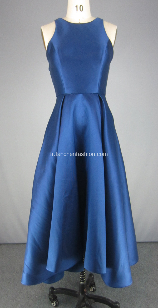 Robes de cocktail bleu marine en gros robe de bal