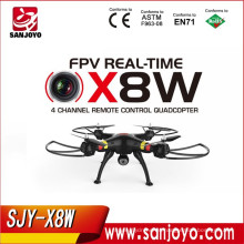 Syma X8W RC helicóptero WiFi FPV con 2MP cámara sin cabeza drone