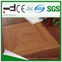 Hebilla laminada clásica HDF marrón laminado suelo