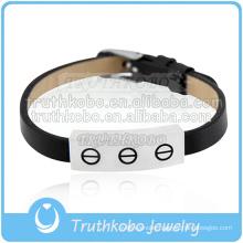 handmade leather bracelet fashion cremation keepsake jewelry