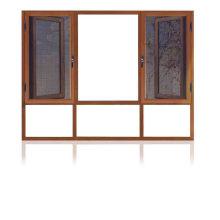 Feelingtop Aluminium Thermal Break Swing Fenêtre en fil d'aluminium avec épaisseur de 1,4 mm (FT-W108)