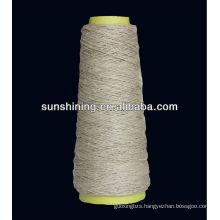 100% semi-bleached linen yarn