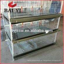 Fornecedor de gaiolas de chocolate / gaiolas de aves / caixas de piquetes