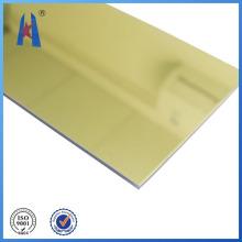 Placa ignífuga decorativa de alta qualidade ACP usada para cortina de alumínio