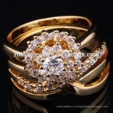 2018 арабский мода 22k золото кольцо дизайн для женщин