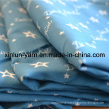 Tissu d'impression de haute qualité avec un fabricant chinois