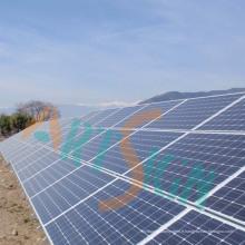 Systèmes à énergie solaire avec vis au sol
