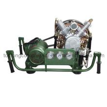 Compresor de alta presión del salto de la escafandra autónoma compresor de la pintura (Vf-206 200bar)