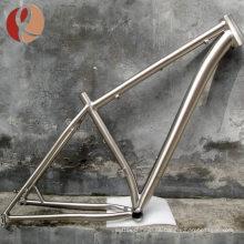 Marco de bicicleta de titanio de alta calidad de bmx de fábrica