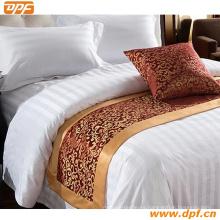100% poliéster personalizada bufanda cama de hotel (DPF2667)