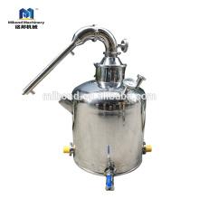 Columna de destilación de la olla de alcohol de reflujo modular 30L / 50L / 100L / 200L