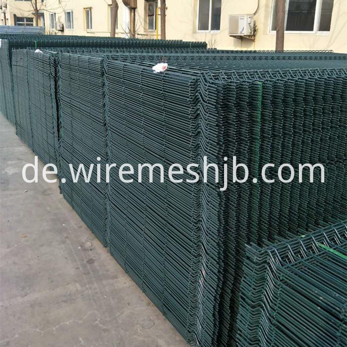 PVC beschichtete geschweißten Drahtzaun China Hersteller