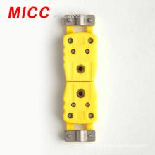 Connecteur mini-thermocouple type K 02 avec pince