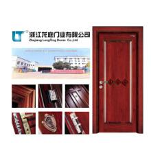Porta de madeira da entrada contínua interior para o quarto (LTS-404)