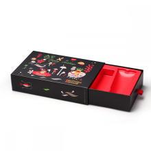 Рождественская серия косметических рекламных подарочных коробок
