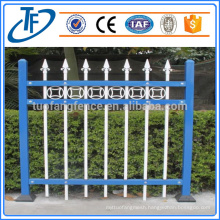 Cheap Powder coated Wrought iron garrison fence