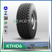 Les pneus de camion Keter Brand avec des pneus de haute performance 13r / 22.5