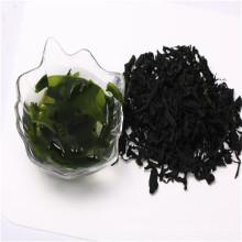 algas secas chinesas cortar wakame comida vegetariana