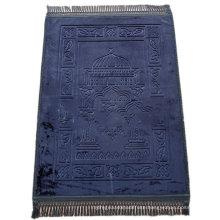 Wholesale Flannel Muslim Prayer Rug Printed Indoor Floor Mat Anti Fatigue Mat The Factory China