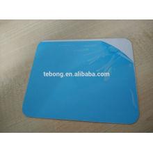 Coated aluminum sheet metal sublimation business card