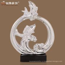 оптовая главная декоративные рыбы пара фигурка для свадебного подарка