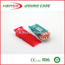 HENSO CE ISO Caja de plástico de yeso de herida adhesiva