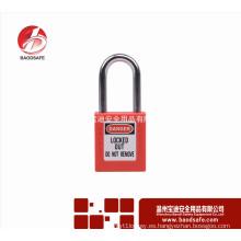 Wenzhou BAODSAFE 38mm Acero Xenoy seguridad candado bloqueo BDS-S8601D rojo