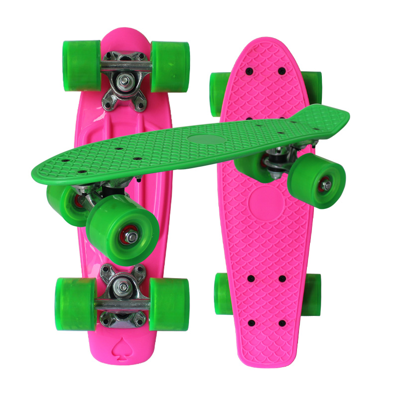 Mini Plastic Skateboard