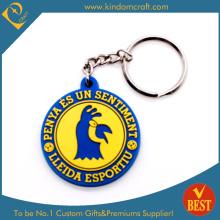 Art- und Weisegroßverkauf kundenspezifisches PVC Keychain