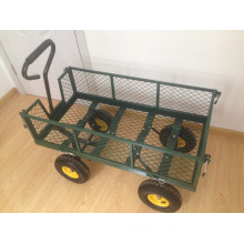 carrito de jardín de malla