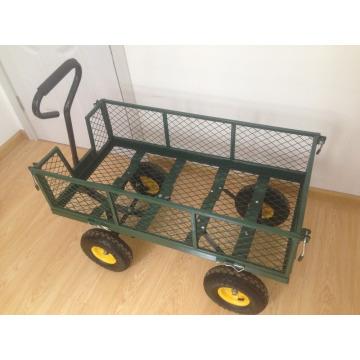 chariot de jardin main main d'outils de jardinage