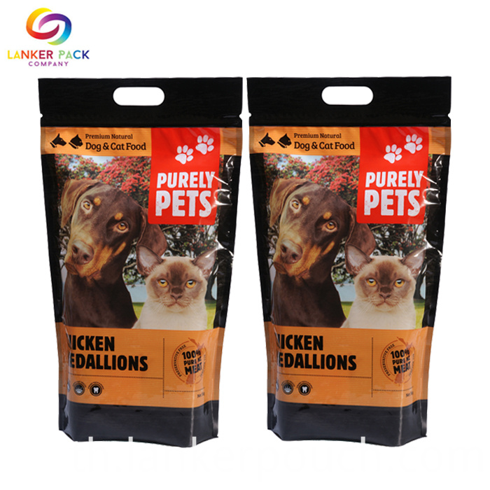 2BRC Standard Printed Doypack Pet Food Pouch Bag