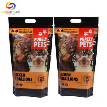 Op maat vochtbestendige folie Cat Food Packaging Bags