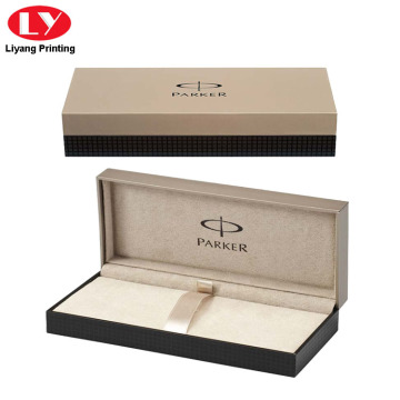 Luxury Shell Pen Box Velvet Chèn