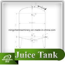 Réservoir de stockage Mc 2000L en acier inoxydable
